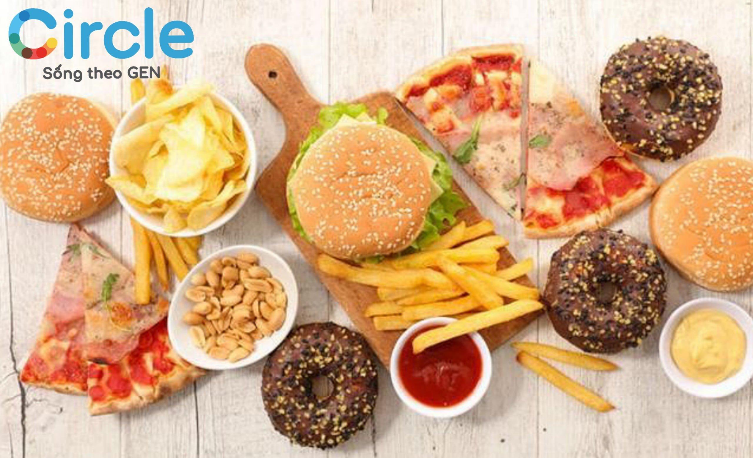 """Các loại thức ăn chứa nhiều đường và thực phẩm ăn nhanh được """"dán nhãn đỏ"""" trong thực đơn dành cho trẻ 5 tuổi biếng ăn."""