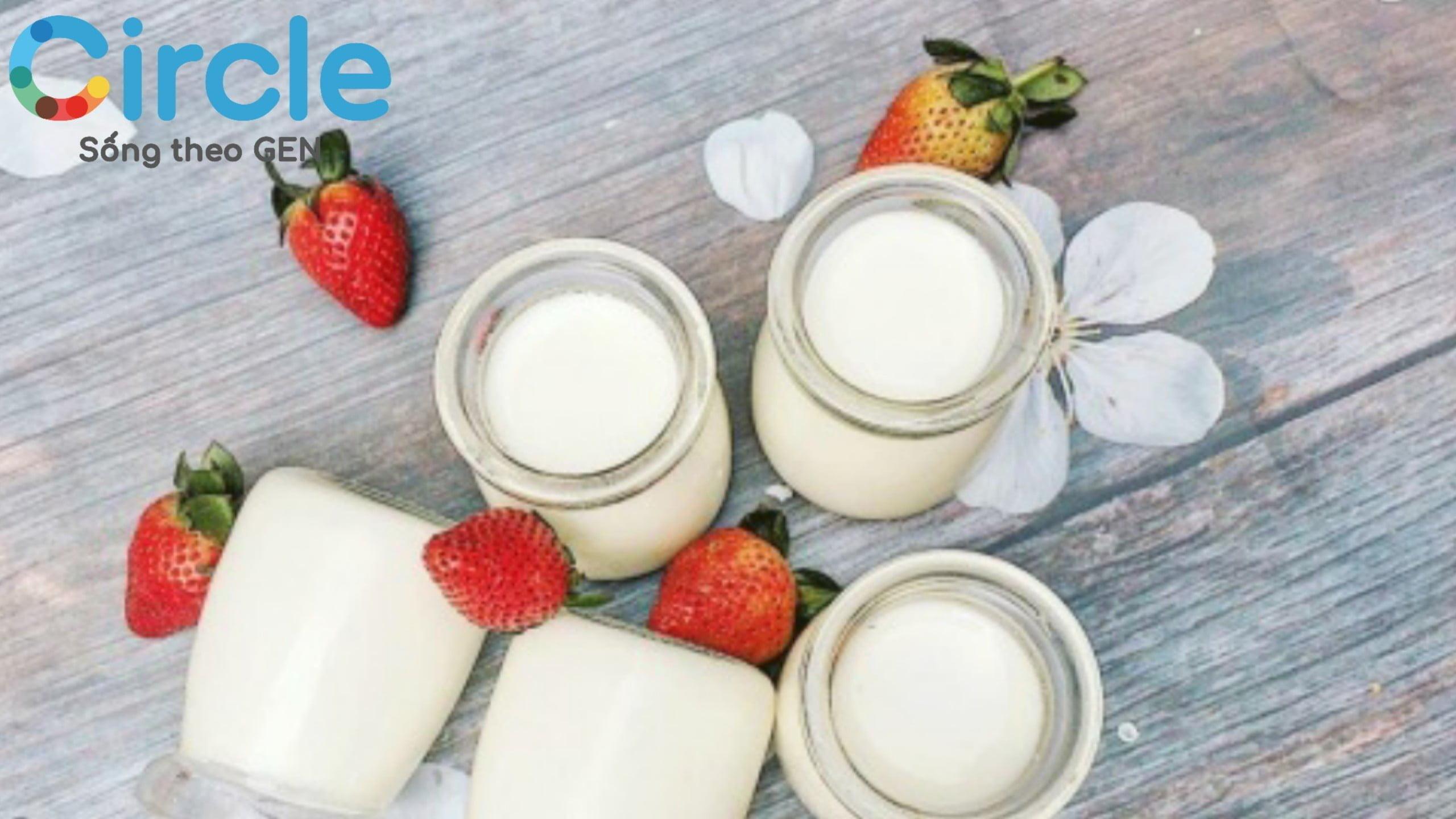 Sữa chua có chứa vô vàn lợi khuẩn, rất tốt cho đường tiêu hoá của trẻ. Thực phẩm nên có trong chế độ ăn cho trẻ 8 tháng tuổi.