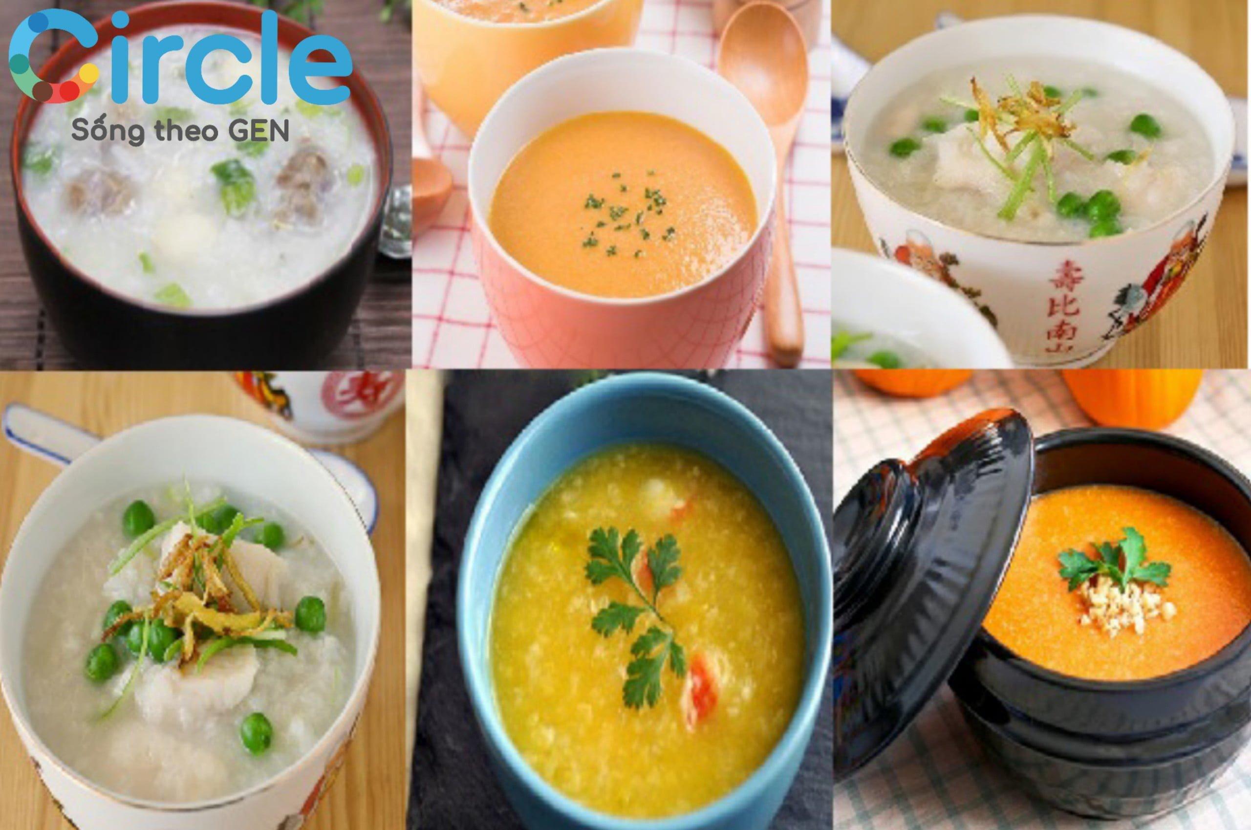 Cháo được nấu từ các loại ngũ cốc, các loại đậu và hạt. Đây là nguồn bổ sung dinh dưỡng rất tuyệt vời dành cho trẻ 7 tháng tuổi.