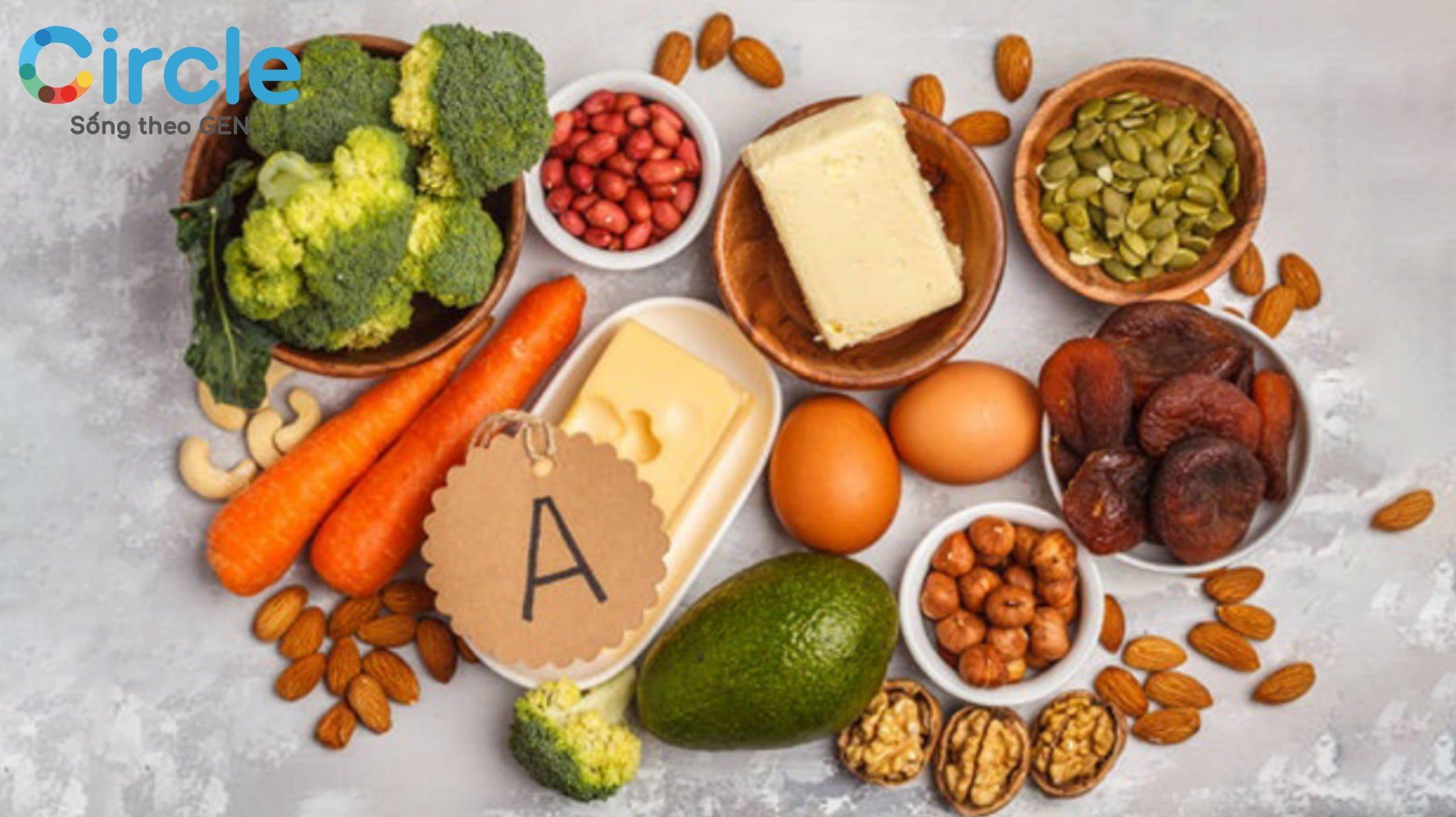 Vitamin A là dinh dưỡng cần thiết cho đôi mắt bé khoẻ mạnh!