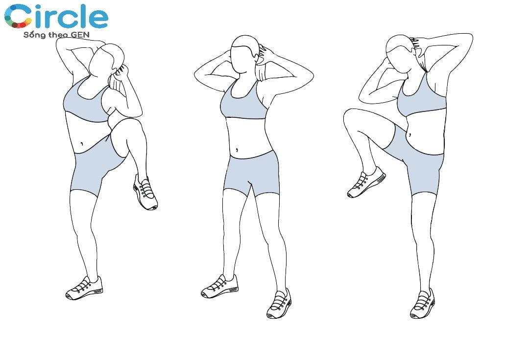 Bài tập thể dục giảm cân cấp tốc giúp bạn lấy lại được vóc dáng hằng mơ ước mà lại không tốn nhiều thời gian mỗi ngày để luyện tập.