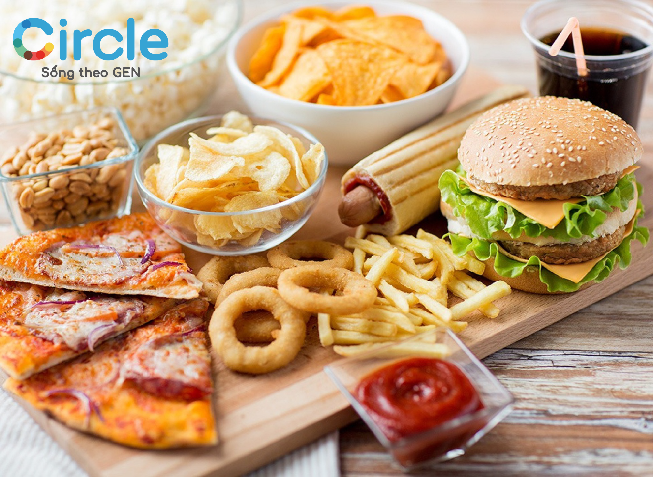 Nói không với thức ăn nhanh nếu không muốn thừa cân và giảm số đo ba vòng
