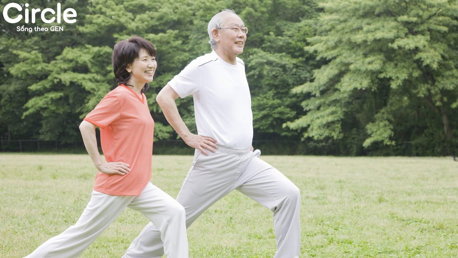 bài tập thể dục dành cho người già