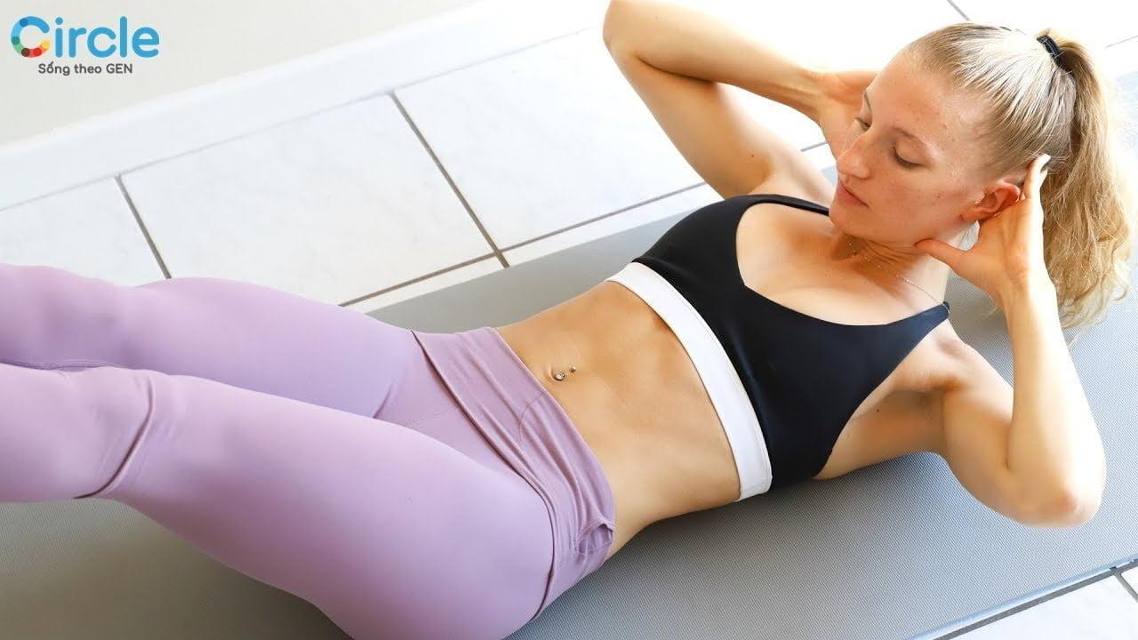 Những lưu ý đầu tiên cho các bài tập thể dục đánh tan mỡ bụng