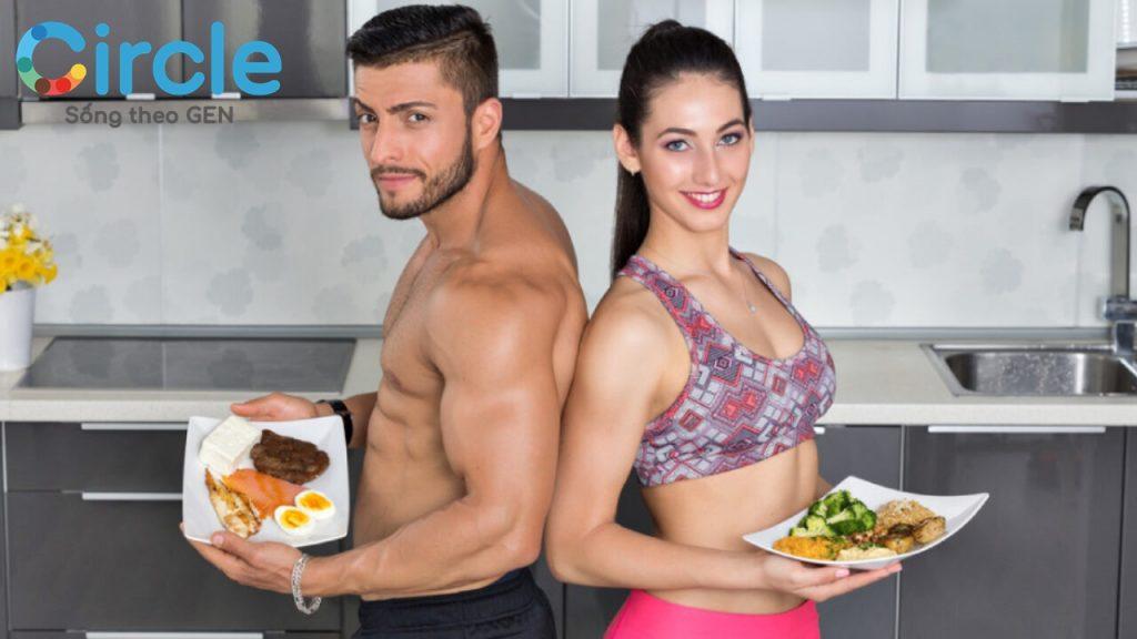 chế độ ăn giảm mỡ tăng cơ