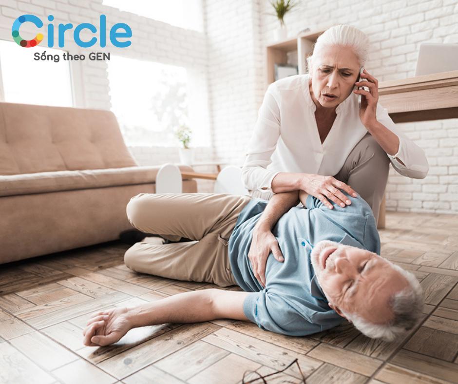 Đột quỵ là biến chứng nguy hiểm nhất khi bị huyết áp tăng đột ngột.