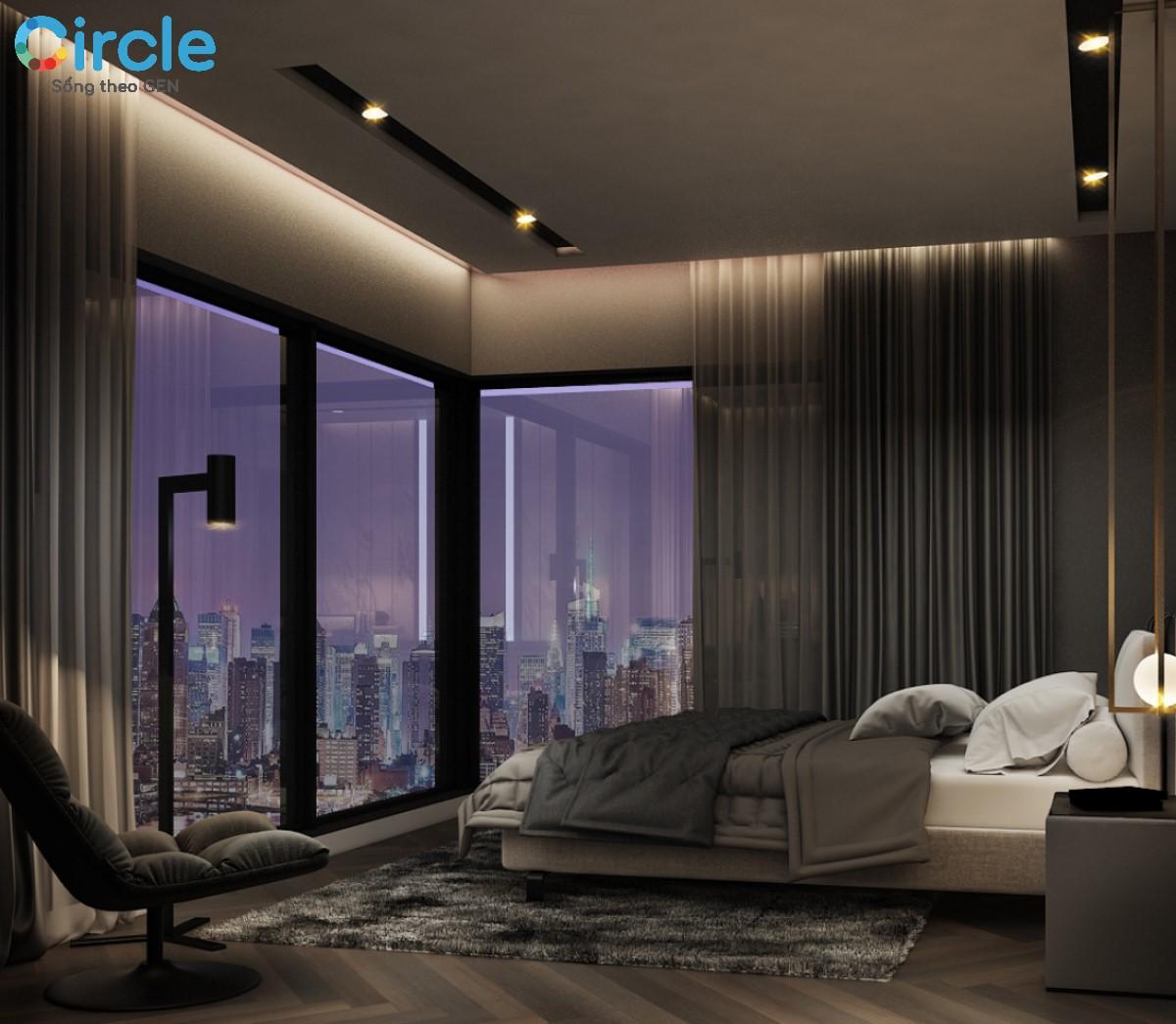 Phòng ngủ được thiết kế vừa ý sẽ giúp ích rất nhiều cho bạn trong việc cải thiện chất lượng giấc ngủ.
